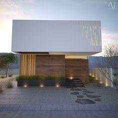 Widok główny: minimalistyczne domy w stylu 21arquitectos