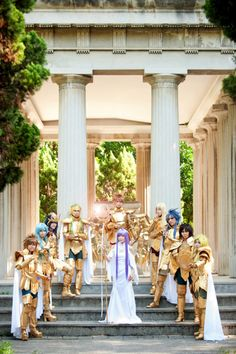 #cosplay Saint Seiya