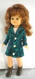 Lote 61893068: conjunto vestido y abrigo Oliver - Valentino para Nancy, cosido a mano, muñeca no incluida