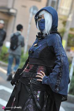 FASHION JAPAN: Yuka Horino (Harajuku,Tokyo)