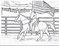 Riding With Carry Flag
