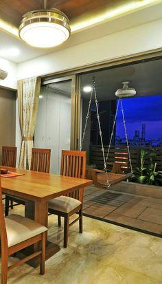 Indian Living Rooms, Living Room Modern, Balcony Swing, Home Decor Bedroom, Room Decor, Mediterranean Living Rooms, Sweet Home Design, Recycled Home Decor, Balcony Furniture