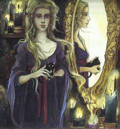 Trina Schart Hyman- from Snow White
