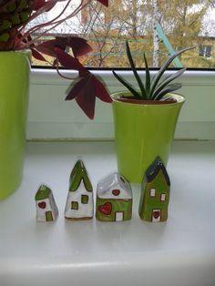 Miniature houses-keramické domečky