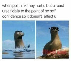 I am pinning because I am protesting against Gerald. Dankest Memes, Funny Memes, Hilarious, Jokes, I Can Relate, The Villain, Laughing So Hard, Self Confidence, Tumblr Funny