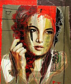 Reposting @roy_ocotla: #arte #art #painting #acrylicpainter #artgallery #artist #mexicanart #color #contemporaryart #creative #fineart #mixedmediaart #contemporarypainting #figurativepainting #figurativeart #instaart #canvas  #artofvisuals #collage #artstarsmag #portraitpainting #charcoalt #modernart #womanart #cdmxart #streetart  #davidroyocotla #2018
