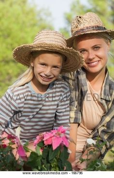 mother and daughter outdoors together Image by Wavebreak Media