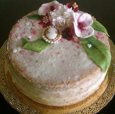 Birthady gift for grandmother...pineapple and yoghurt cream :)