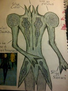 Project: Fashion A jacket design inspired by John Galliano