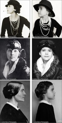 jaime moore photography  Coco Chanel Amelia Earhart Susan B. Anthony