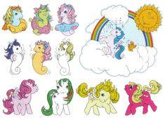 My Little Pony Sticker Book G1 - Part 2 | by Natasja_75