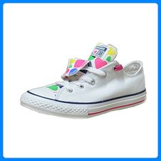 7822f5c82e259 Converse - Converse All Star Double Tongue Kinder Sportschuhe Weiss -  Weiss
