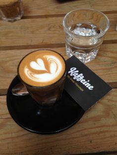 Kaffeine London, cosycoffeeshops say they have a terrific flat white! London Coffee Shop, Coffee Culture, White Flats, Latte Art, My Coffee, Good Things, Tea, Drinks, Tableware