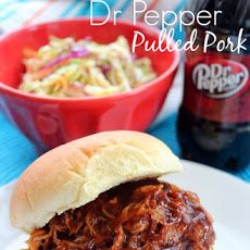 Crock Pot Dr. Pepper Pulled Pork Recipe