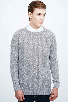 Shore Leave Vancouver Cable Knit Jumper in Plum