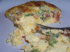 Broccoli and Bacon Egg Casserole - Low carb recipes suitable for all low carb diets - Low Carb Recipes