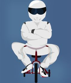 Plakat The Stig Top Gear