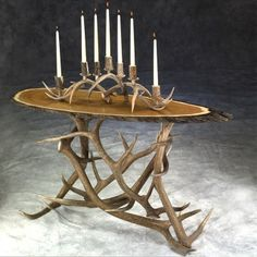 Elk Antler Sofa Table | Antler Decor