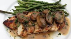 Grilled Chicken with Rosemary Mushroom Gravy   Our Everyday Dinners