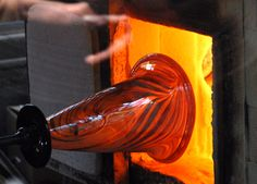 Blowing glass is just amazing.