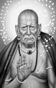 Durga Kali, Shiva Hindu, Shiva Shakti, Sai Baba Hd Wallpaper, Lord Shiva Hd Wallpaper, Saints Of India, Shivaji Maharaj Hd Wallpaper, Swami Samarth, Lord Ganesha Paintings