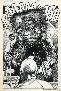 barry windsor smith original art   Chapter 10 (Marvel Comics Presents #81) Page 8