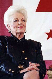 Dorothy Ann Willis Richards (September 1, 1933 – September 13, 2006) was an American politician and the 45th Governor of Texas. She first came to national attention as the state treasurer of Texas, when she delivered the keynote address at the 1988 Democratic National Convention. Richards served as the 45th Governor of Texas from 1991 to 1995