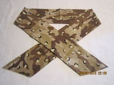 "Extra Wide 3"" Reusable Non-Toxic Cool Wrap / Neck Cooler  - Camo - Desert Storm…"