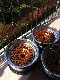 3 piece Ronal Racing Turbo mesh