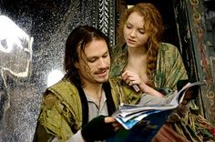 Heath Ledger and Lily Cole- The Imaginarium of Dr Parnassus
