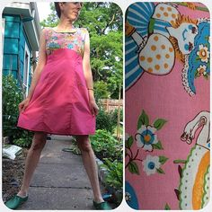 """126 Likes, 24 Comments - Kittee🐝 (@kitteekake) on Instagram: """"This #coletterooibos, its creepy-assed #vintagefabric, and I wish you a happy end of #mmmay16!…"""""""