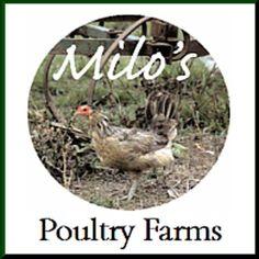 Milo's Poultry Farms - Organic Foods - Bonduel, WI - Logo