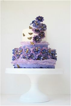Maggie Austin Wedding Cakes: Sophistication at its Finest. To see more: http://www.modwedding.com/2013/06/08/maggie-austin-wedding-cakes-sophistication-at-its-finest/ #wedding #weddings #wedding_cake