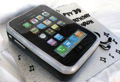 Iphone Cake by Verusca.deviantart.com on @deviantART