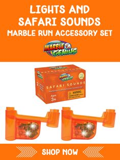 Lights & Safari Sounds Marble Run Accessory Set Steam Learning, Hands On Learning, Learning Through Play, Marble Toys, Steam Toys, Steam Education, Math Stem, Inspired Learning, Stem Steam