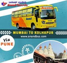 """Let's Go Kolhapur """"the land of magnificent temples"""". Book online tickets for Kolhapur in our brand new 2+1 AC Sleeper coach and get flat 5% of all bus bookings. http://www.anandbus.com/e-bookings/97/Mumbai/79/Kolhapur/  #Mumbai #Kolhapur #Pune #BusTicketsOnline #OnlineBus"""