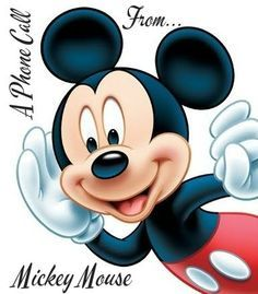 A Phone Call From Mickey Mouse - Disney World - Disney World Reveal Phone Call