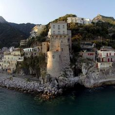 Cetara (Salerno) - la torretta. Cetara is a town and commune in the Province of Salerno in the Campania region of south-western Italy.  Cetara is located in the territory of the Amalfi Coast.