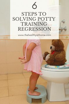 Potty training regression is extremely normal especially for how young Baby T was, but that doesn't make it less frustrating. Here are the steps I took to help solves Baby T's potty training regression. Potty Training Regression, Toddler Potty Training, Parenting Advice, Kids And Parenting, Toddler Activities, Nanny Activities, Sensory Activities, Learning Activities, Young Baby
