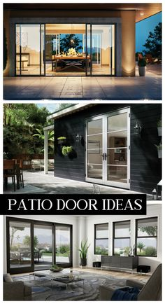 Get tons of ideas for upgrading your patio doors with Milgard Windows & Doors. From single sliding doors to 6 panel moving walls. Double Sliding Patio Doors, French Doors Patio, Sliding Doors, Back Patio, Small Patio, Glass Wall Systems, Outdoor Topiary, Moving Walls, Big Doors