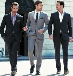 Well dressed men exude charm and power