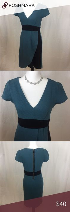 Gorgeous Anthropologie dress 👗 Gorgeous Anthropologie Maeve dress 👗 In GREAT pre owned condition. Beautiful V neck line with a faux wrap design in the front. Super soft and stretchy. Size Medium. Anthropologie Dresses