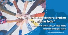 #fellowship #peace #MLK #civilrights #quote #CompellingConversations