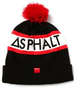 5c6ed415c94 Find Outliner Pom Beanie Men s Hats from Asphalt Yacht Club   more at  DrJays. on Drjays.com