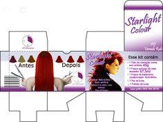 embalagem de tinta para cabelo - Pesquisa Google