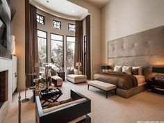 Larger than life bedroom