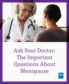 Get your menopause conversation started. Here are some questions you can ask your doctor. #NWHW