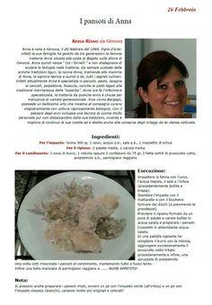 """La Ricetta di oggi 26 Febbraio dall'archivio di Ricette 3.0 di spaghettitaliani.com -  I pansoti di Anna ( Primi - Tortellini, ravioli ) inserita da Anna Risso - La ricetta si trova anche nel Libro """"Una Ricetta al Giorno... ...leva il medico di torno"""" prodotto dall'Associazione Spaghettitaliani, per acquistarlo: http://www.spaghettitaliani.com/Ricette2013/PrenotaLibro.php"""
