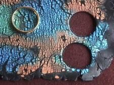 How to Crackle from Polyzine using Pearlescent Liquid acrylic by Daler-Rowney ~ Polymer Clay Tutorials