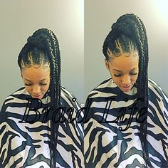 Ponytail Cute Goddess Braids Hairstyles Www Picturesso Com